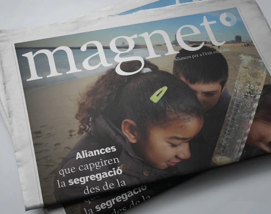 Portada de la revista Magnet