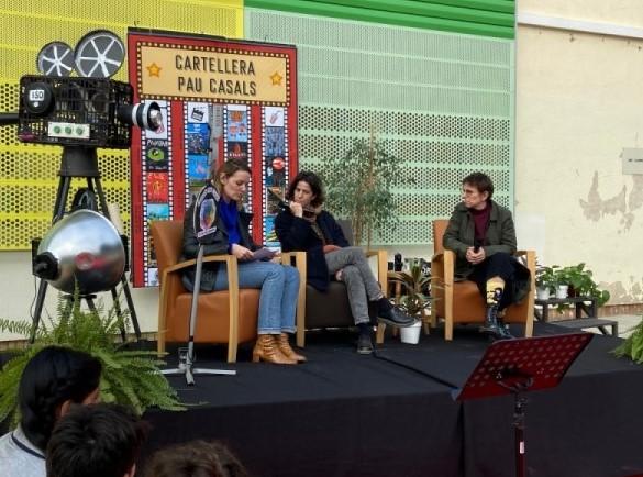 Cineastes a escola Pau Casals