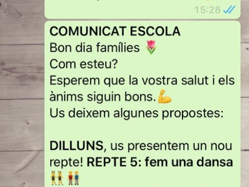 Pau Casals Whatsapp p