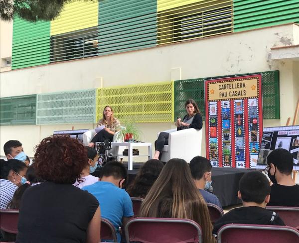 Cineastes a l'escola Pau Casals B33